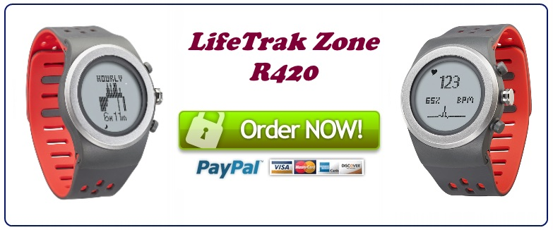 lifetrak zone R420 sale banner